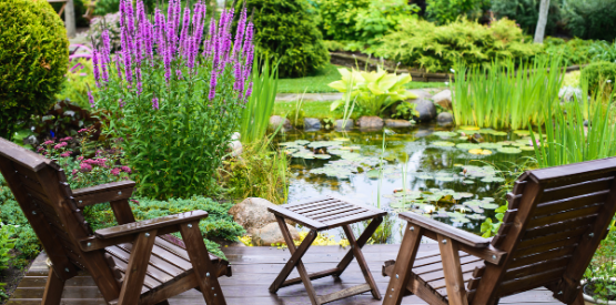 Selecting the best location and size for your pond