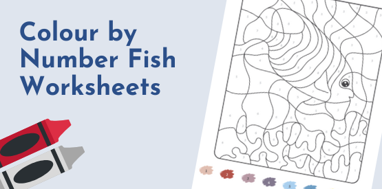 Fish Learning Fridays | Fish Colour By Number