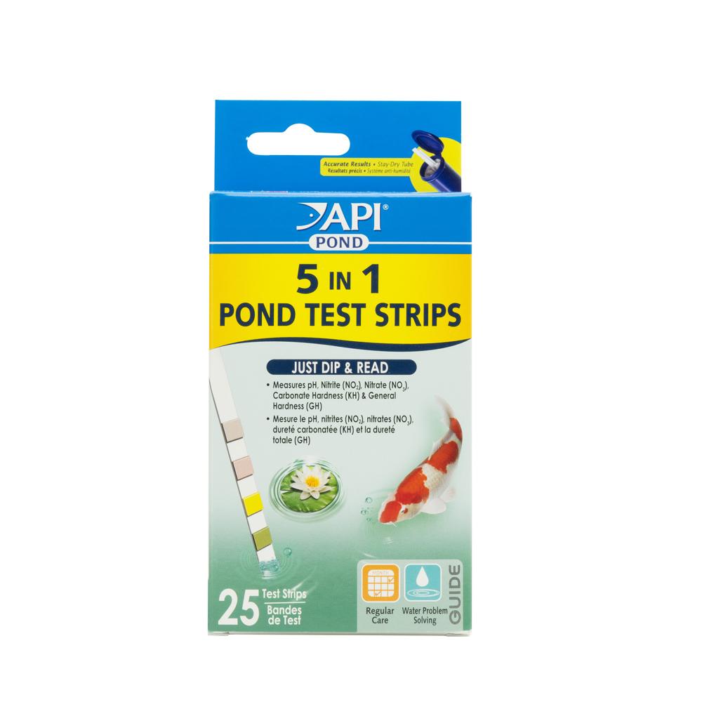 POND 5 IN 1 TEST STRIPS